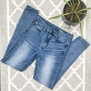 Gap high waisted skinny stretch vintage wash jean